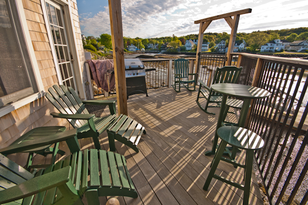 Deck, Back Bay Cottage