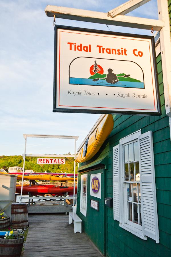 Tidal Transit, Kayak & Bike Rentals